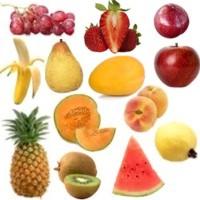 ¿Qué minerales están presentes en las frutas?