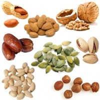 Los frutos secos son buenos contra el colesterol alto