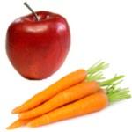 ¿Para qué es bueno el jugo de manzana con zanahoria?