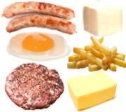 ¿Qué problemas acarrea el exceso de grasas saturadas?