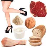 ¿Qué comida me hace engordar las piernas?