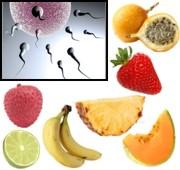 Frutas que aumentan la fertilidad masculina y en la mujer