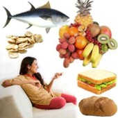 ¿En qué debe basarse una alimentación adecuada para una persona sedentaria?