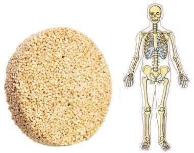 Comer amaranto es bueno para los huesos