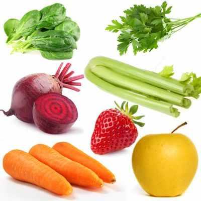 Jugos vitamínicos y terapéuticos para personas con anemia