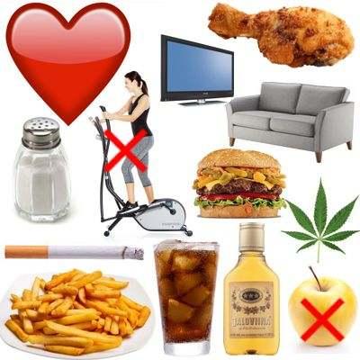 Cosas que hacen mal para el corazón