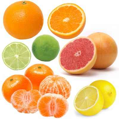 Ejemplos de jugos cítricos ¿Qué jugos de frutas son consideradas cítricos?