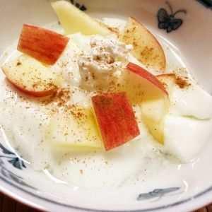 Beneficios de la ensalada de manzana con crema