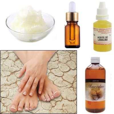 Crema con aceite de lanolina, almendras amargas y dulces para la piel seca