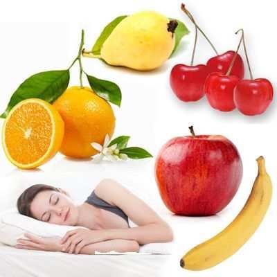 Frutas para antes de ir a dormir