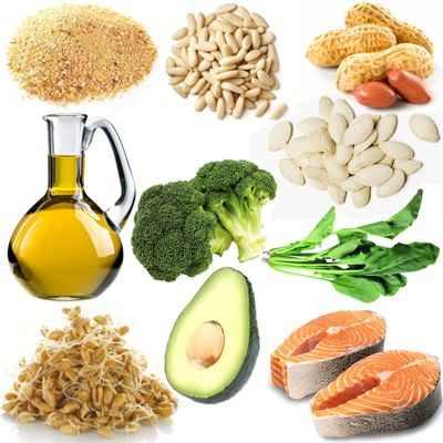 Función de la vitamina E en el organismo humano
