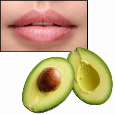Mascarilla de aguacate para los labios y sus beneficios