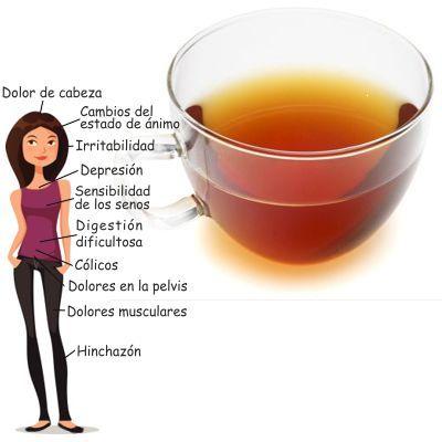 Manzanilla, albahaca, menta, anís y verbena para la menstruación