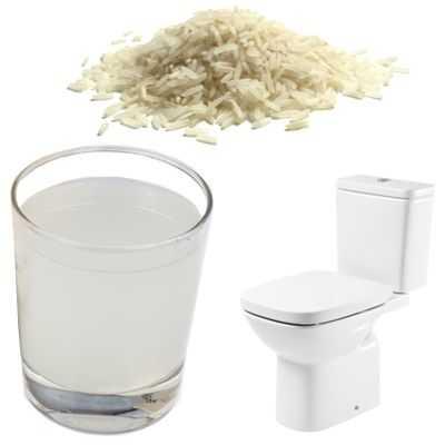 Propiedades y beneficios del agua de arroz para la diarrea