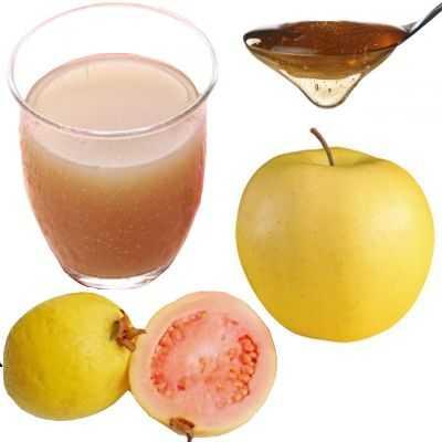 ¿Para qué sirve el jugo de manzana guayaba y miel?