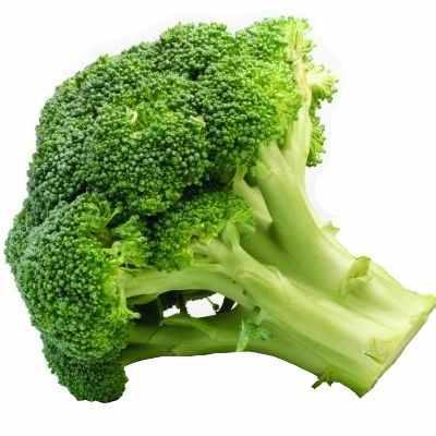 Lo negativo del brócoli
