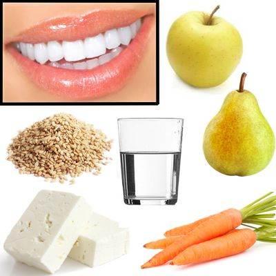 Alimentos buenos para tener dientes sanos