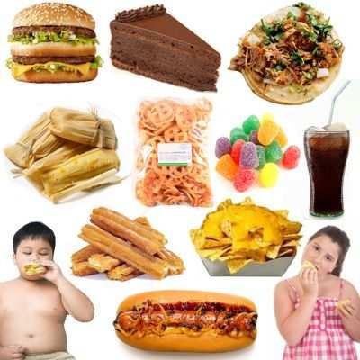 Causas de niños obesos