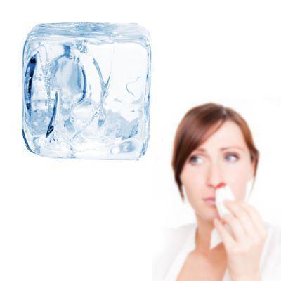 Hielo para hemorragias nasales
