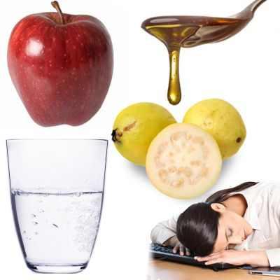 Receta de jugo natural para el agotamiento