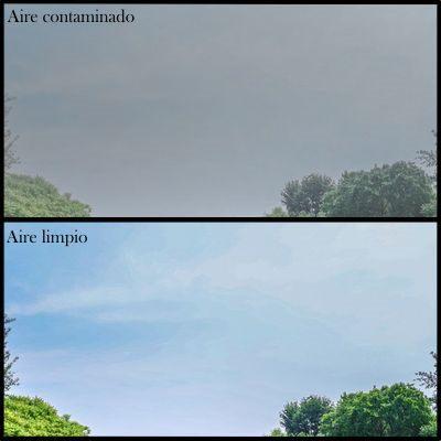 Mantener el aire libre de contaminación