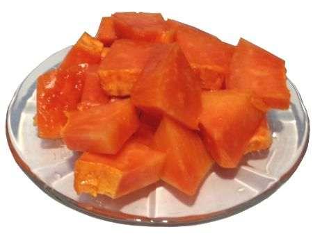 La papaya ayuda al estreñimiento
