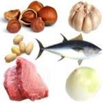 Alimentos que tengan azufre