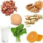 Donde hay vitamina B9 o ácido fólico