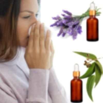Aromaterapia con aceites esenciales para combatir resfriados