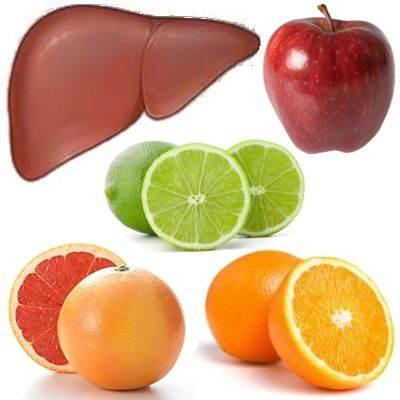 ¿Qué frutas sirven para limpiar el hígado?