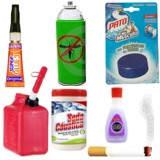 Productos químicos nocivos en el hogar