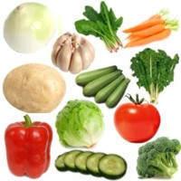 Verduras mes a mes