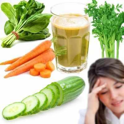 ¿Qué jugos son buenos para la migraña?