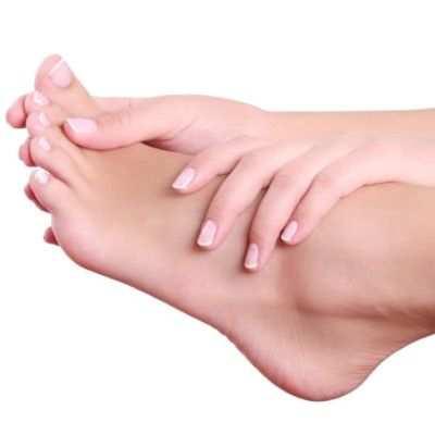 Unos pies hermosos