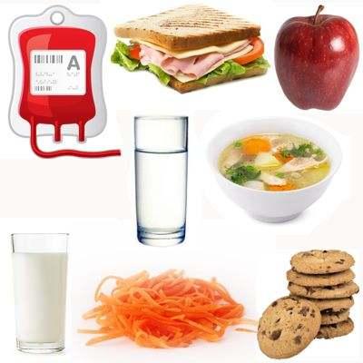 ¿Qué comer después de una donación sanguínea?