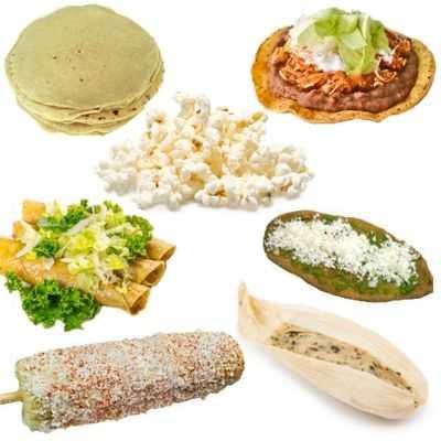Alimentos a base de maíz