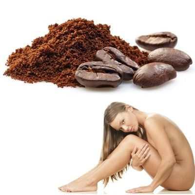 Ponerse café en el cuerpo