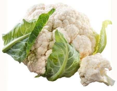 ¿Es indigesta la coliflor cruda?
