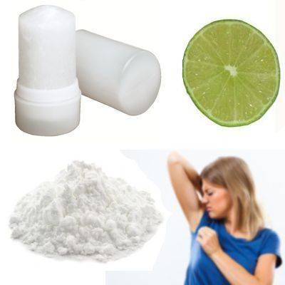 ¿Qué se puede usar como desodorante natural?