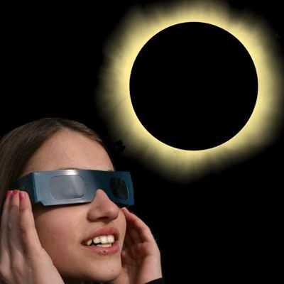 ¿Qué pasa si miro un eclipse solar sin protección?