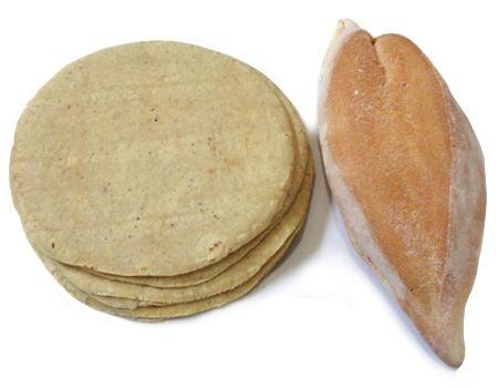 ¿Adelgaza dejar de comer pan y tortilla?