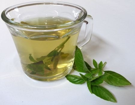 Beneficios de tomar agua de albahaca