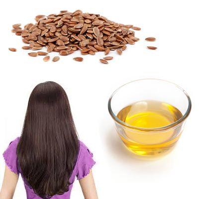 ¿Cómo aplicar aceite de linaza para el cabello?