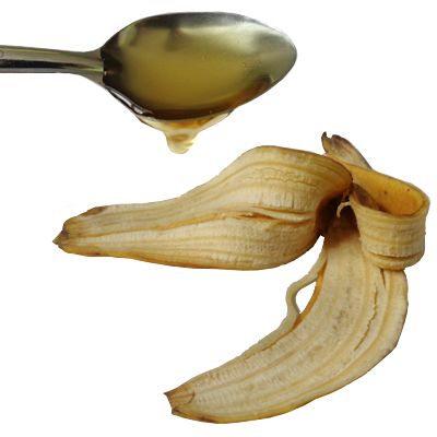 Plátano para quemaduras de sol