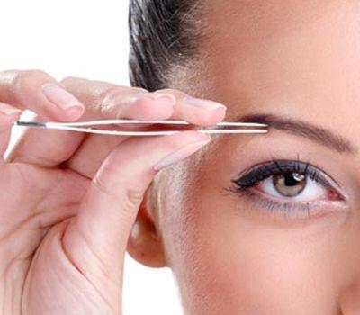 La depilación de las cejas es bueno para la salud