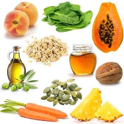 Alimentos contra las arrugas