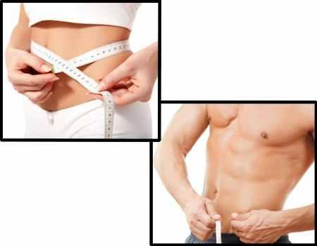 Medida ideal de cintura en hombres y mujeres