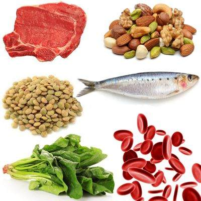 La deficiencia de hierro en la sangre produce un tipo de anemia