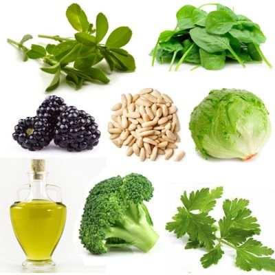 ¿Cuáles son los alimentos que contienen vitamina K y E?