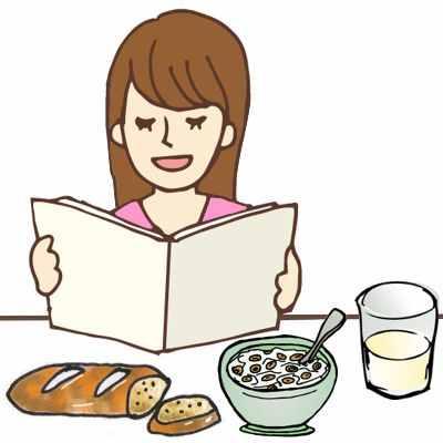 Porque es malo leer mientras se come